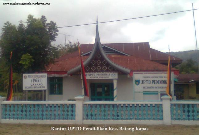 Kantor UPTD Pendidikan Kec. Batang Kapas