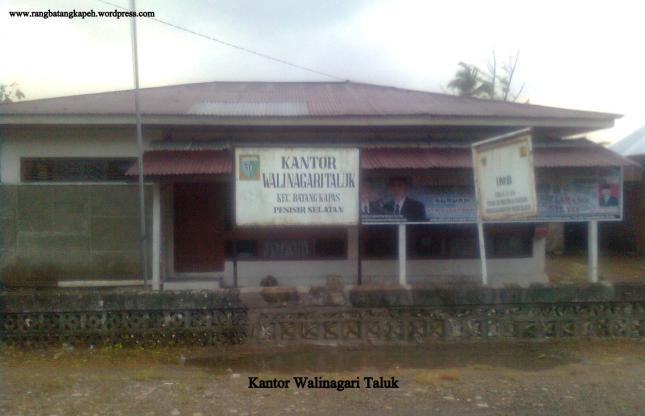 Kantor Walinagari Taluk