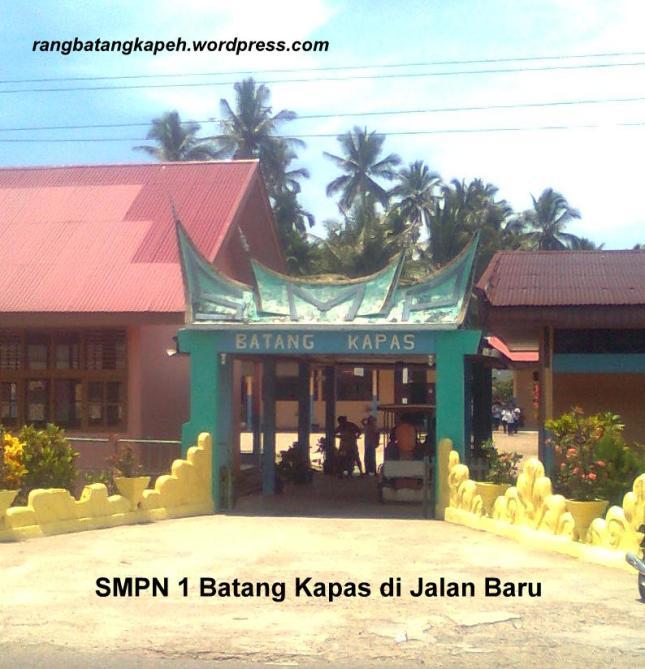 SMPN 1 Batang Kapas