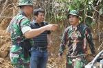 Kunjungan Lokasi Pra TMMN/D di Wilayah Koramil 05/Batang Kapas Kodim0311/Pessel.