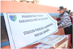 Pessel Persiapkan Iven Nasional, Stadion Rangeh Gadang TunjangWisata